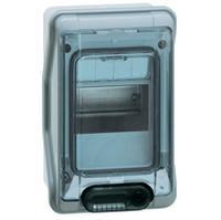 Waterdichte Kast 6 Modules Met Klemmenblok Ip65 Plexo