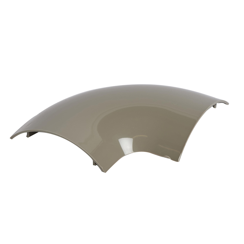 Goulotte Pour Plafond moulure de sol 75 x 18mm angle plat 90 - pvc-ral7030